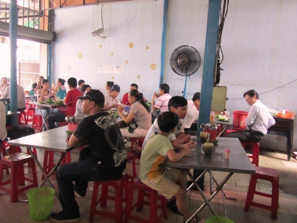 Common rice eatery, quán cơm bình dân, Vietnam