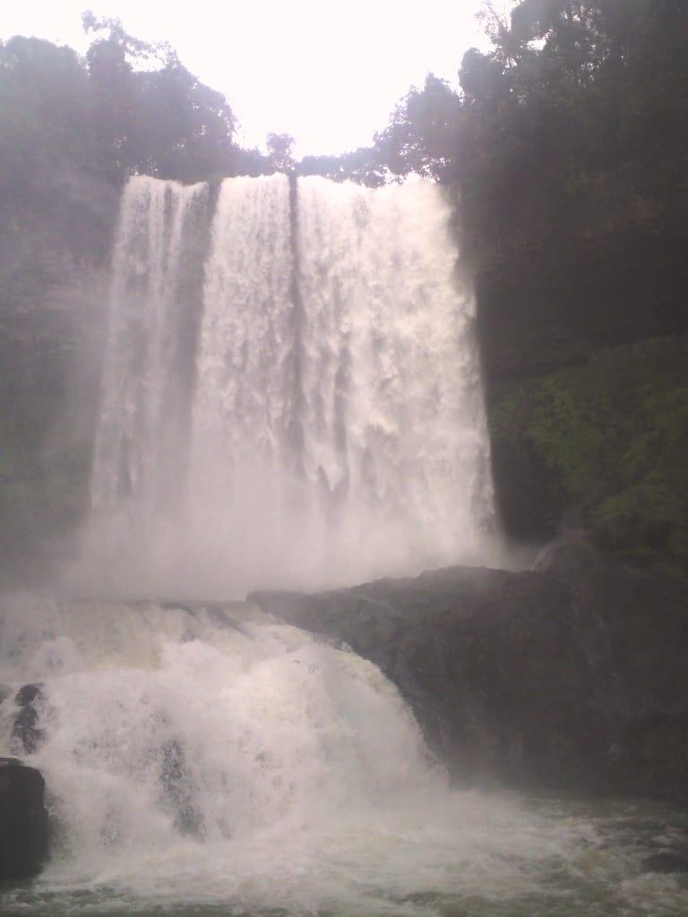 Legend tells of a cascade of tears