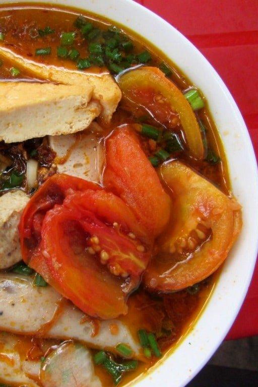 Melting pot: bún riêu is a soup loaded with 'stuff'