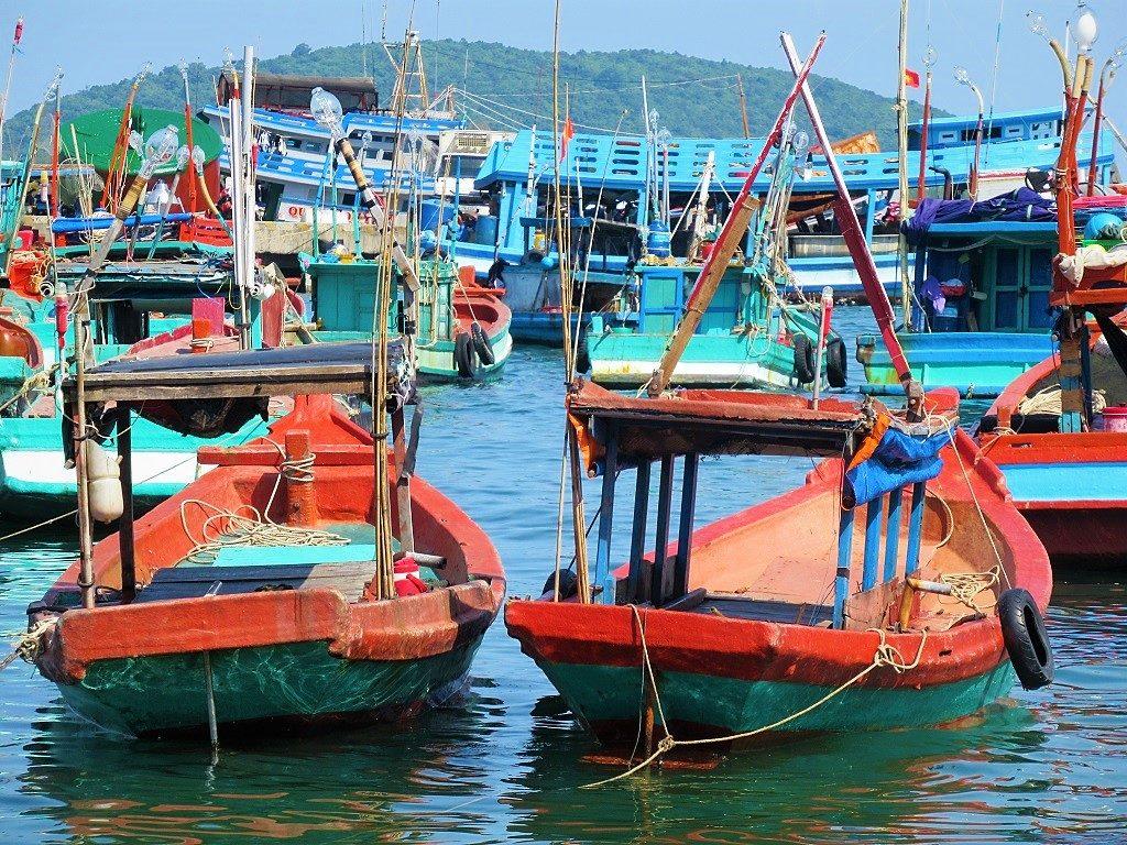 An Thoi Port, Phu Quoc Island, Vietnam