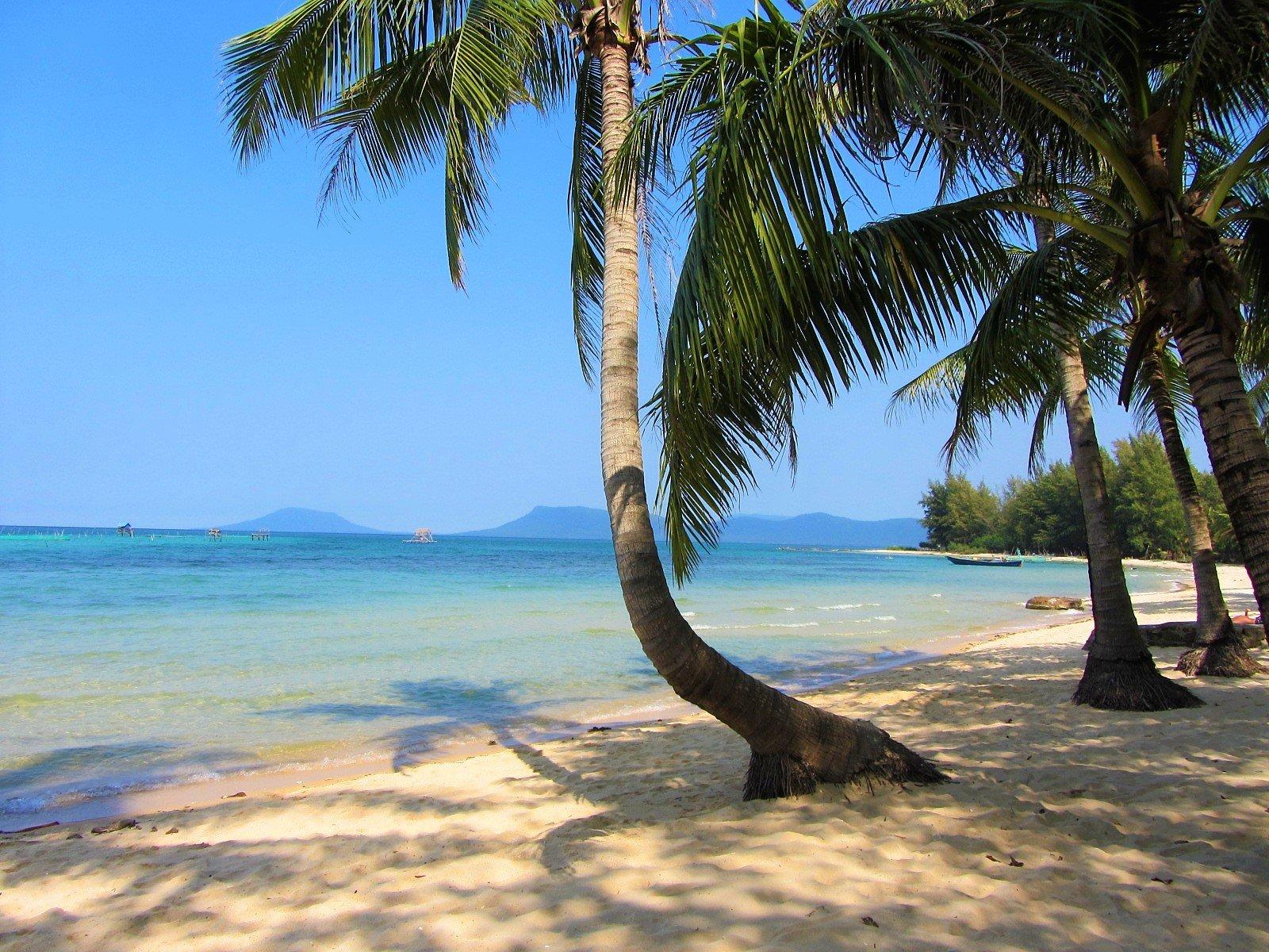 Ganh Dau Beach At The Northwestern Tip Of Phu Quoc Island Is A Gorgeous Palm Fringed Bay