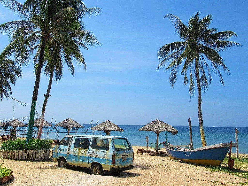 Golden Sand Bar, Long Beach, Phu Quoc Island, Vietnam