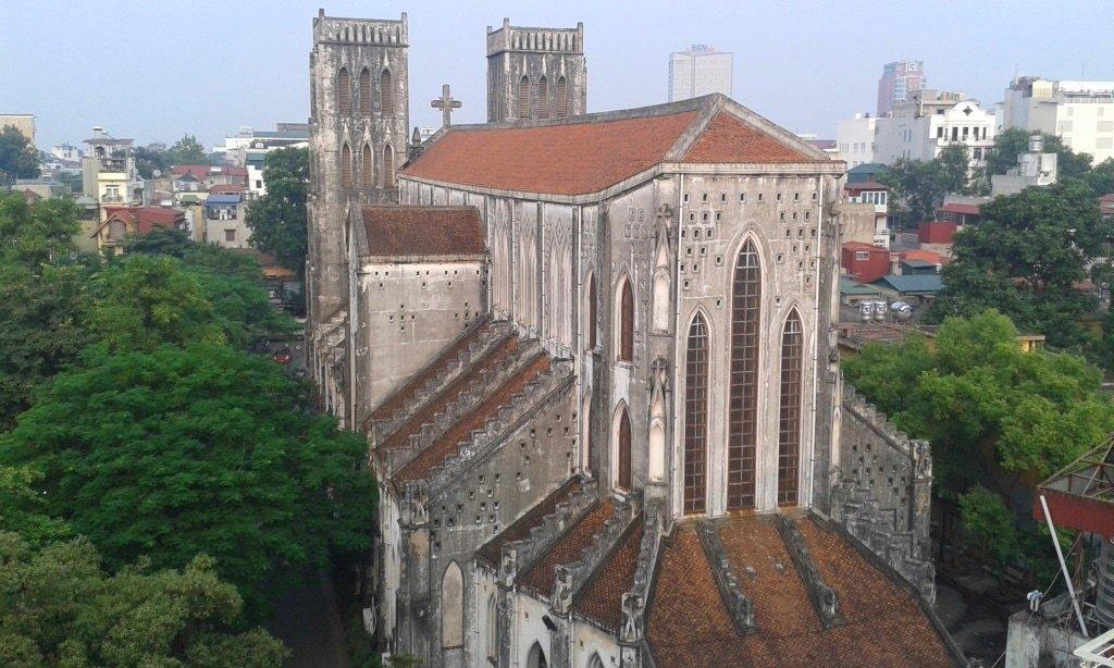 St Joseph's from my balcony