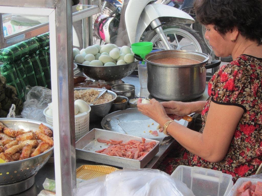 Street food in Phan Thiet