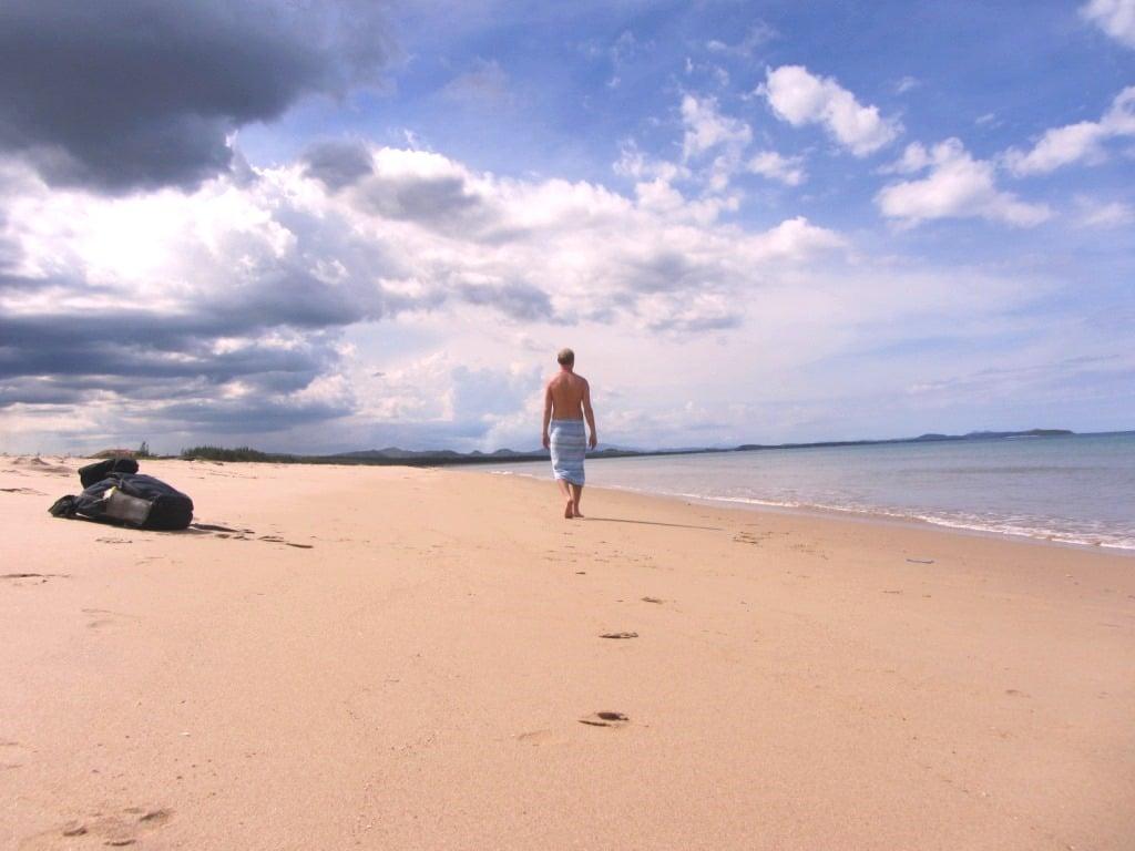 Empty beaches near Tuy Hoa