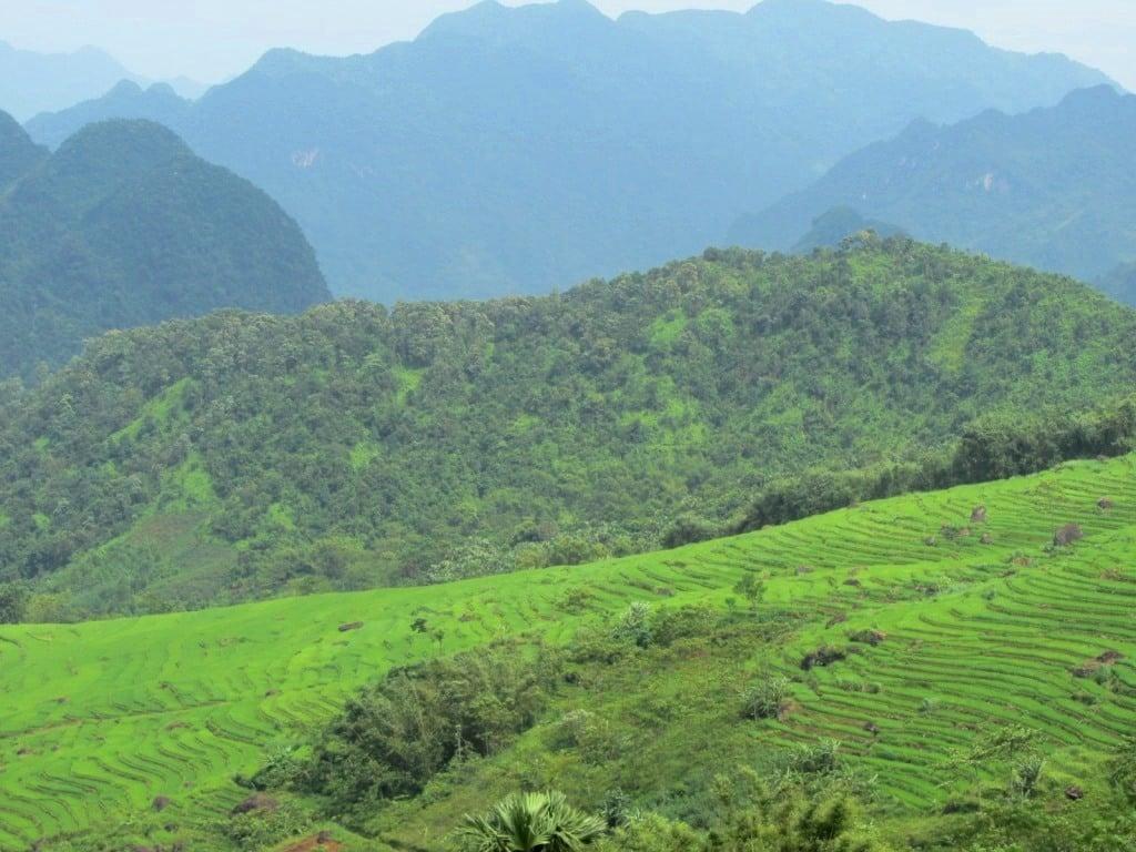 Valleys & fields, Pù Luông Nature Reserve