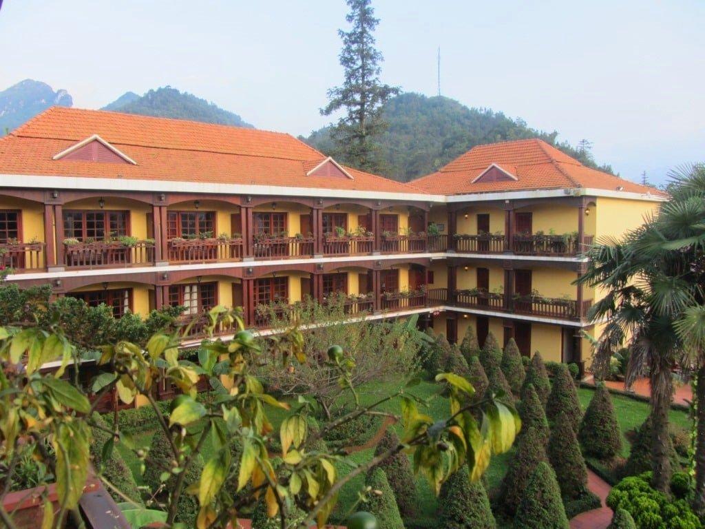 Victoria Sapa Spa Resort, from my balcony