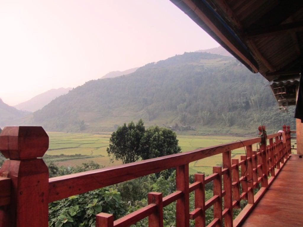 My homestay in Mu Cang Chai