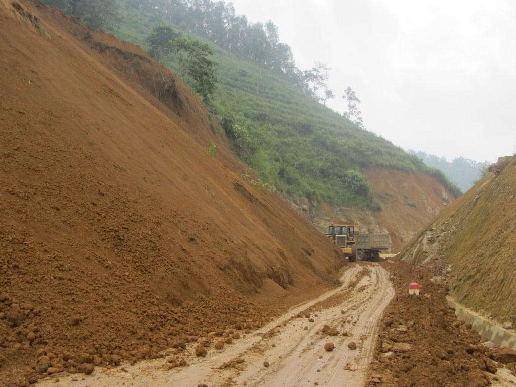 More landslides