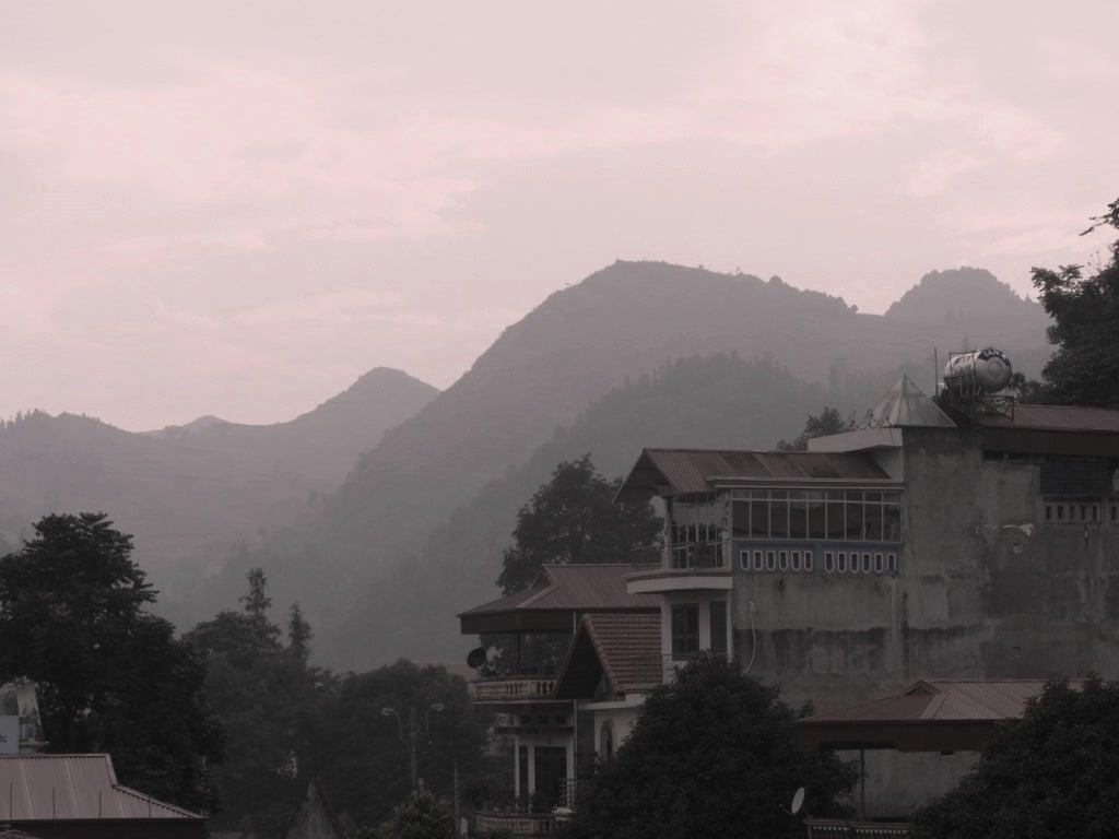 Bac Ha from my balcony