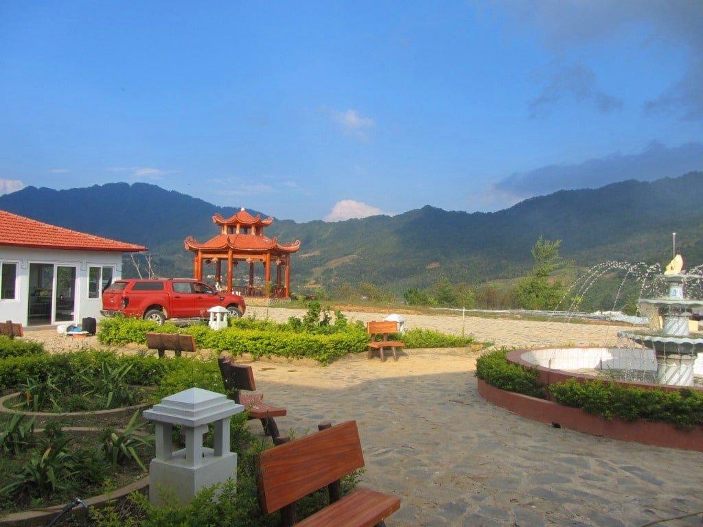 Tea Plantation near Ba Be Lakes