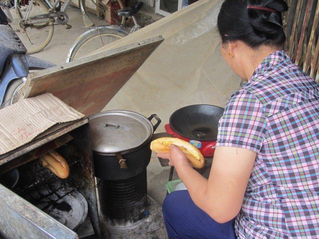 Baguettes for breakfast, Quang Uyen