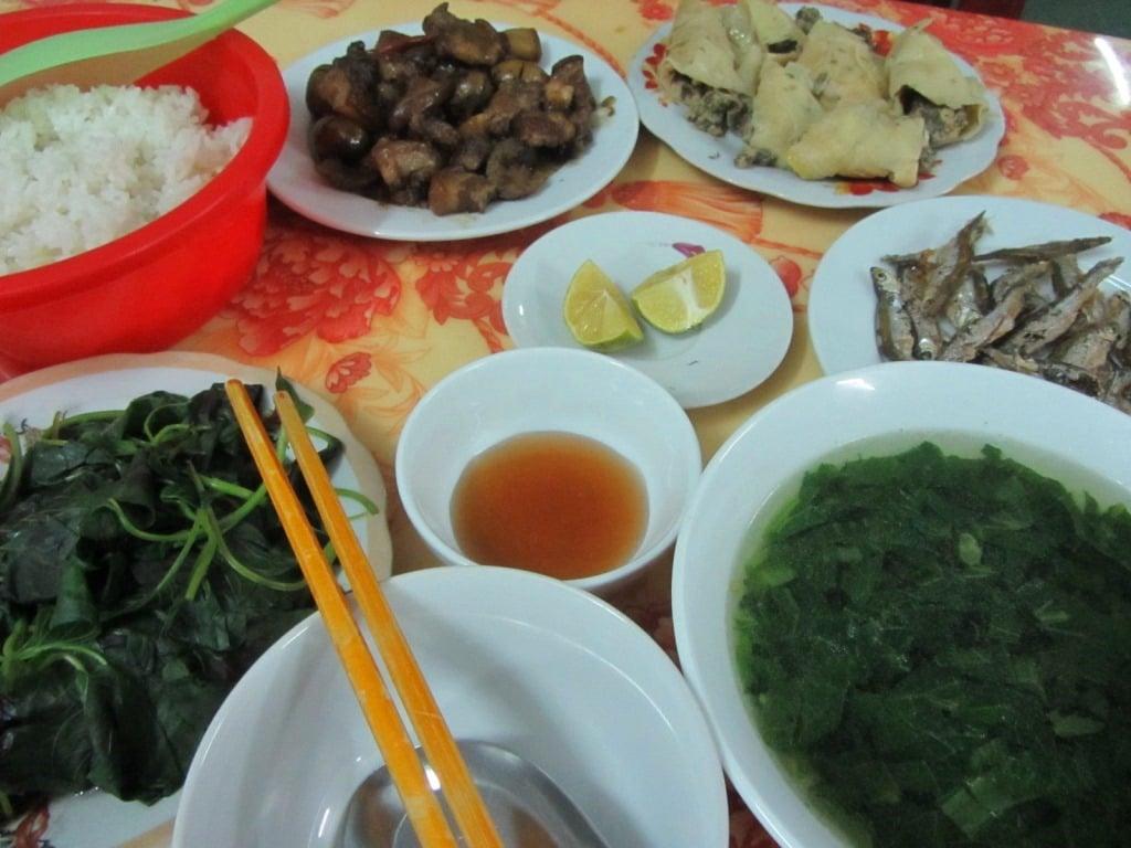 Dinner in Bac Kan