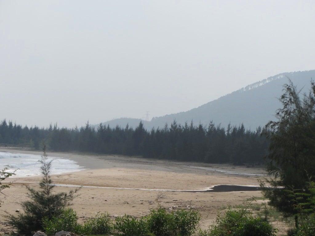 The sea near Ngang Pass