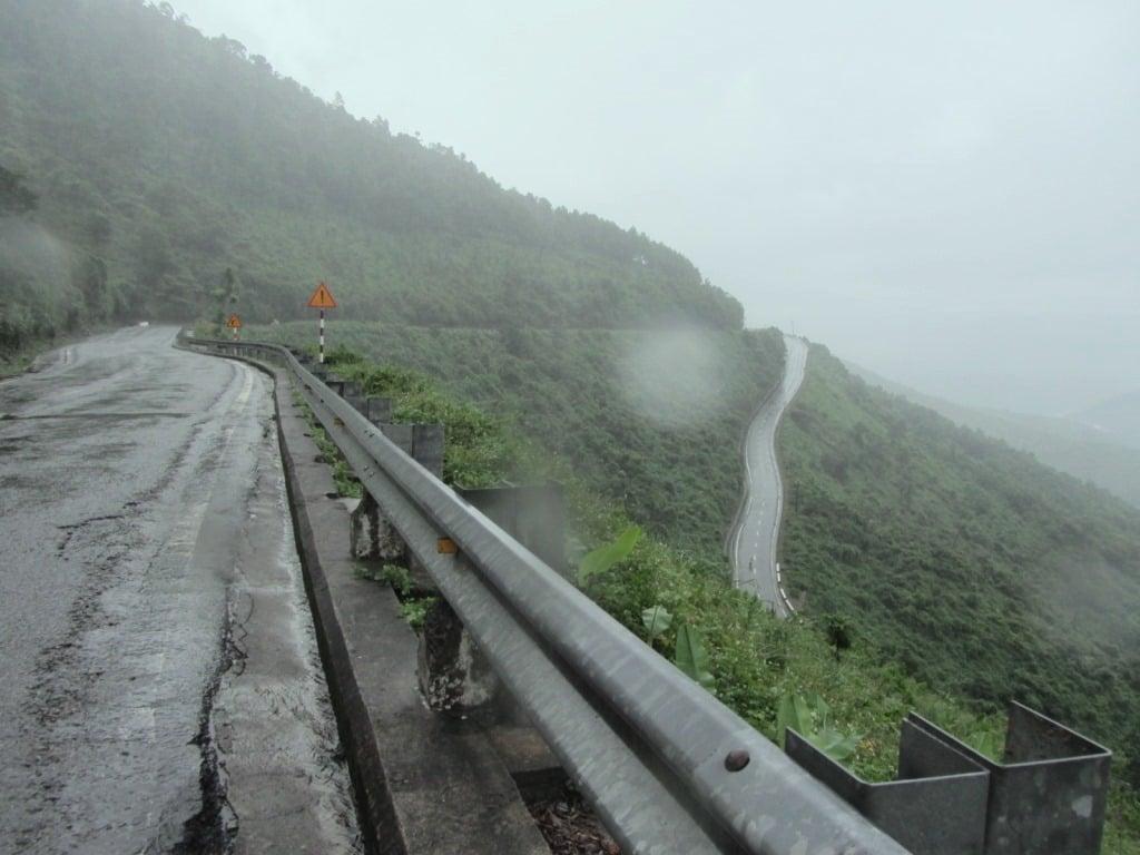 Top of the Hai Van Pass