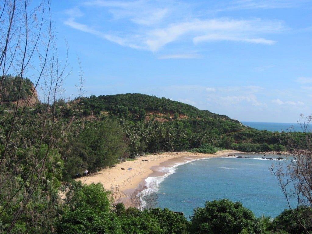 Beach south of Quy Nhon