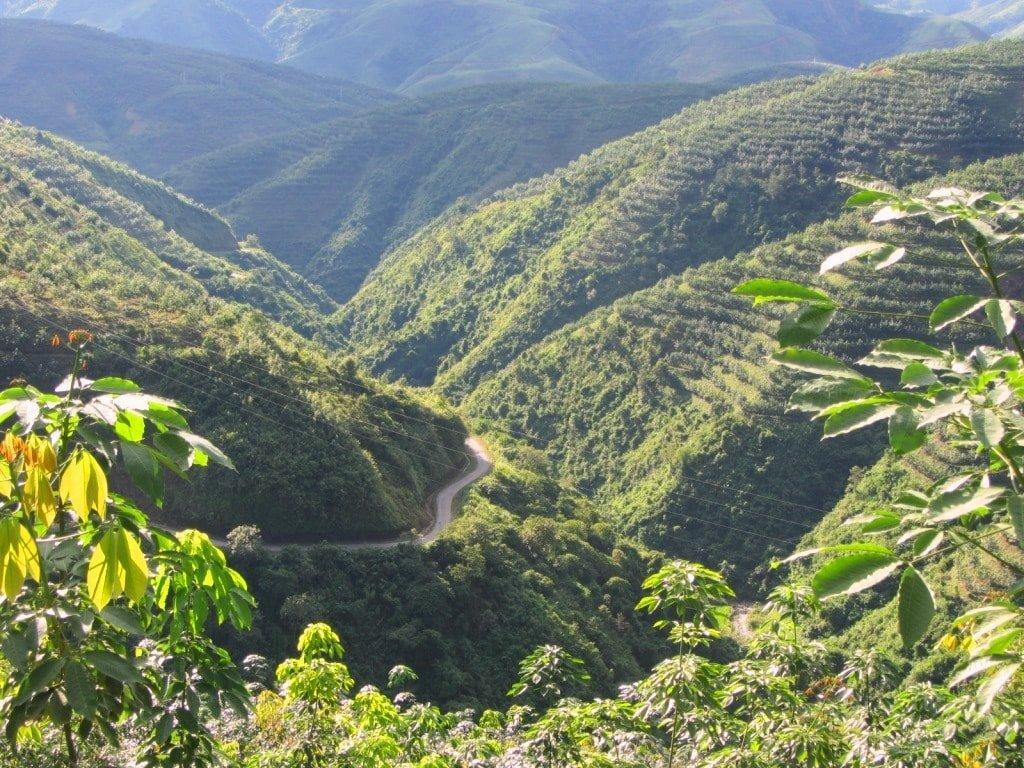 The road to Sin Ho, Lai Chau, northern Vietnam