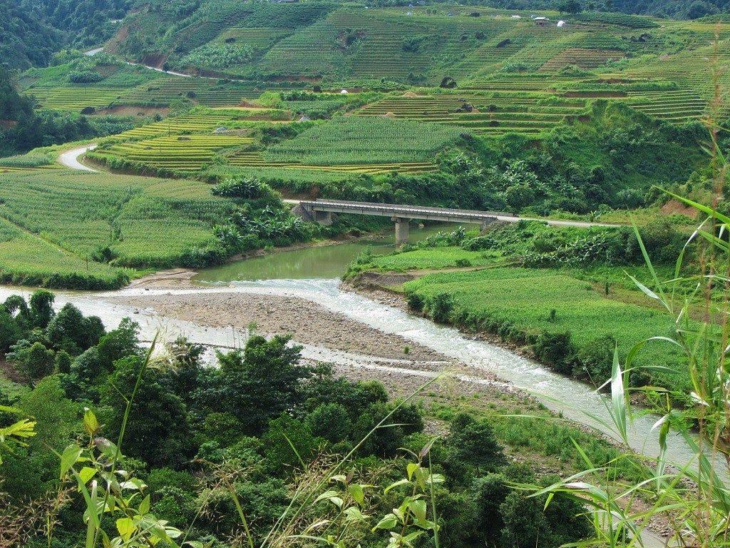 Road 4D cũ, Lai Chau to Tam Duong, Vietnam