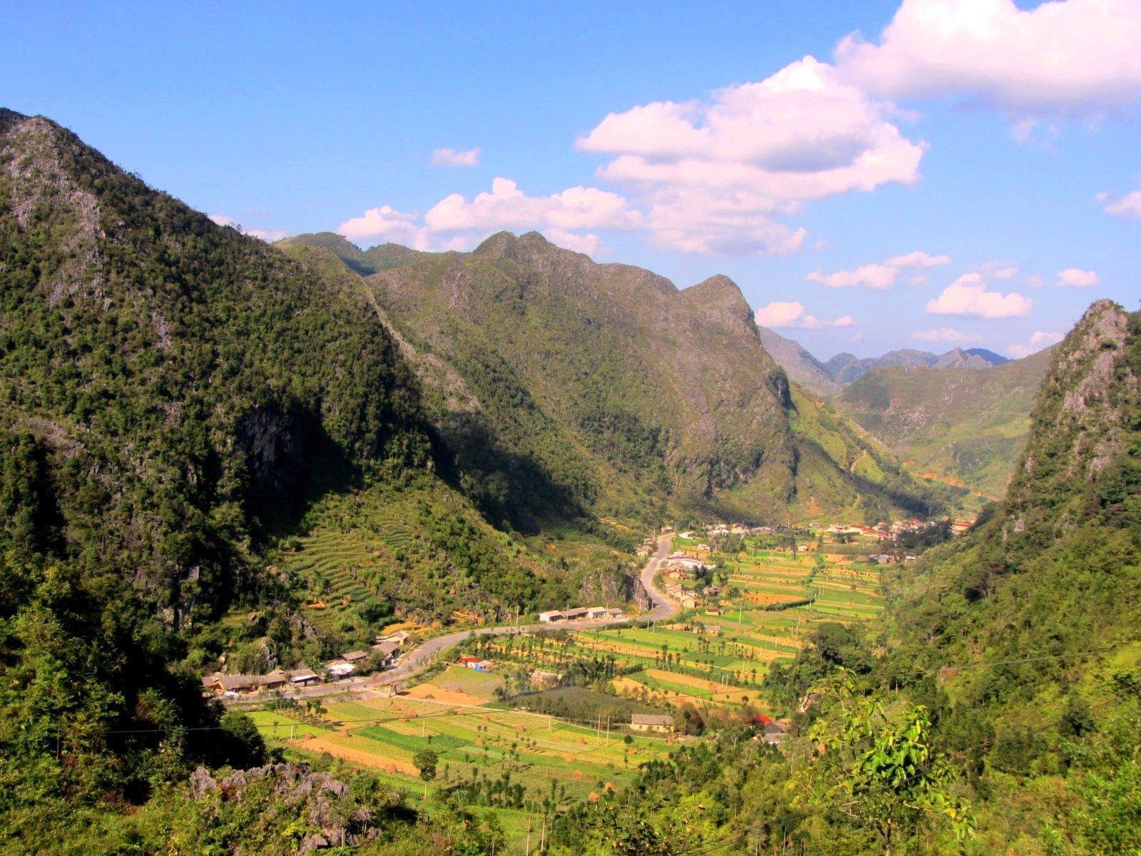Ha Giang, Dong Van limestone geopark, Vietnam