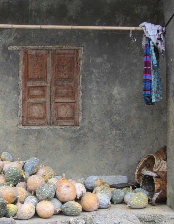 Porch of minority home, Meo Vac