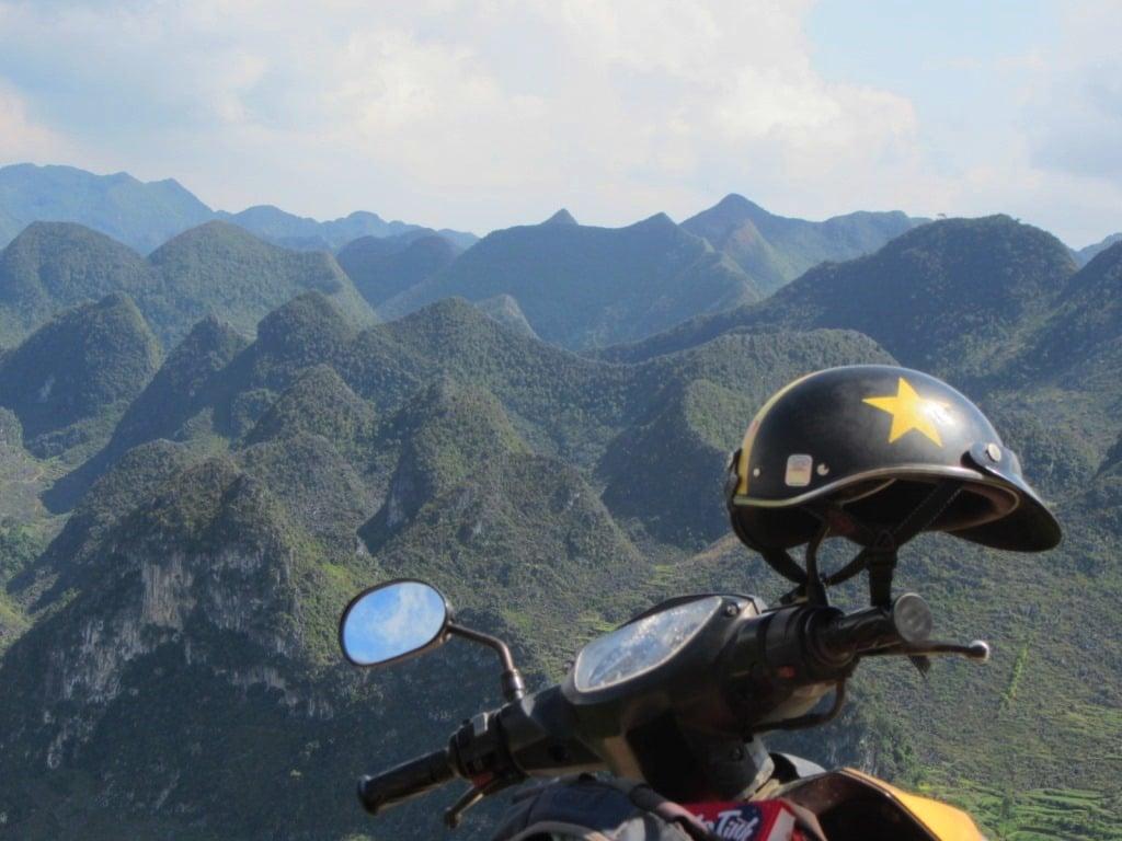 Dong Van Karst Plateau by motorbike, Vietnam
