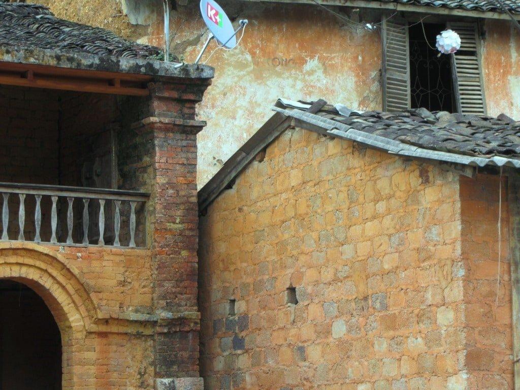 Old Quarter buildings, Dong Van, Vietnam