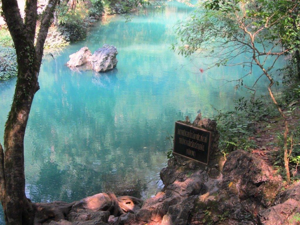 Pac Bo Cave, Lenin Creek, Vietnam