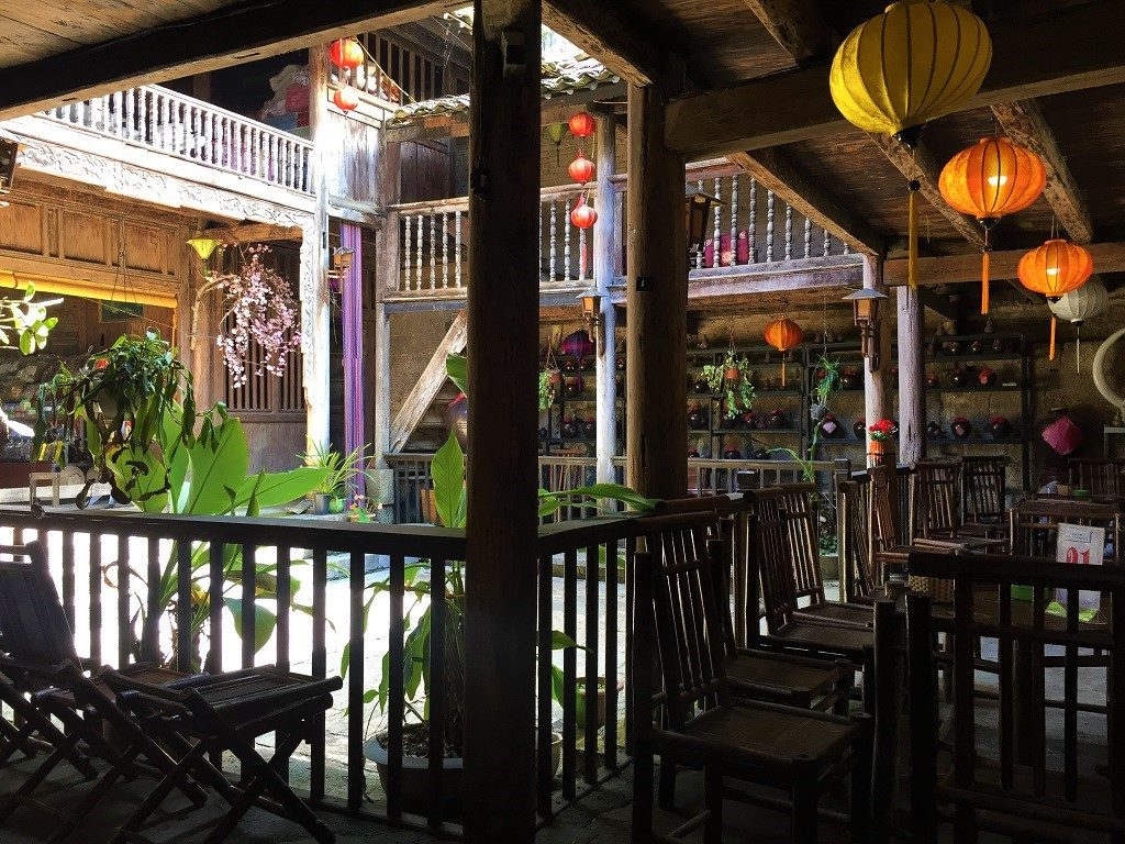Inside an Old Quarter building in Dong Van, Ha Giang