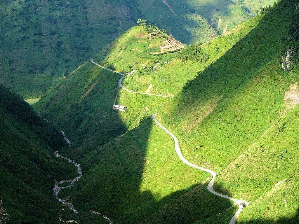 The Ma Pi Leng Pass, Ha Giang, Vietnam