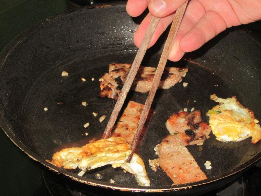 Bacon & eggs, sort of