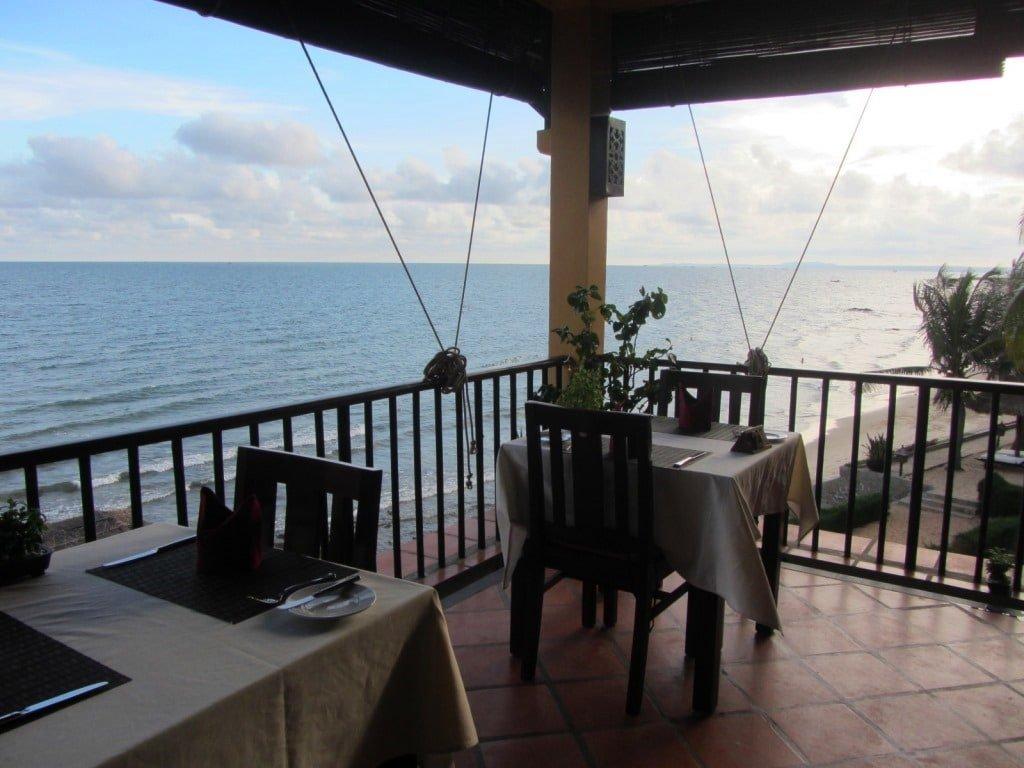 The restaurant at Victoria Resort Phan Thiet