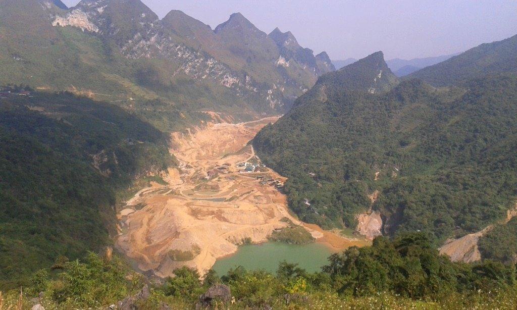 Tinh Tuc Mine, Cao Bang