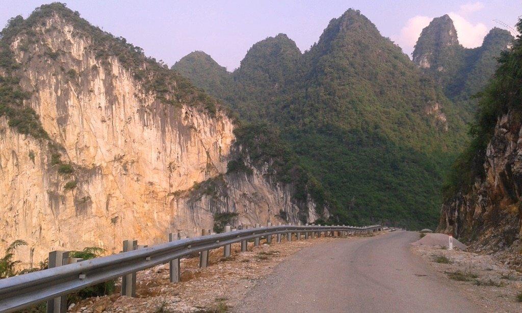 Karst landscape, Cao Bang