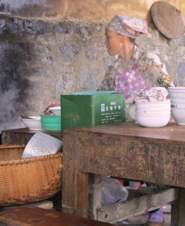Breakfast at Tra Linh, Cao Bang