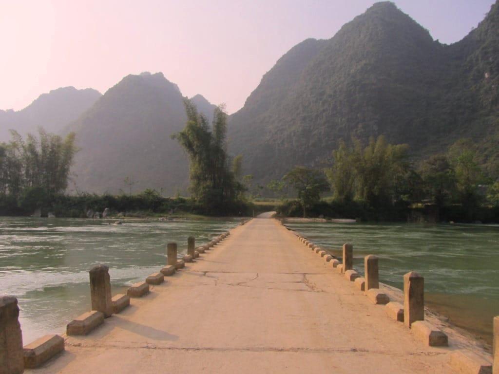 Limestone karsts, Cao Bang