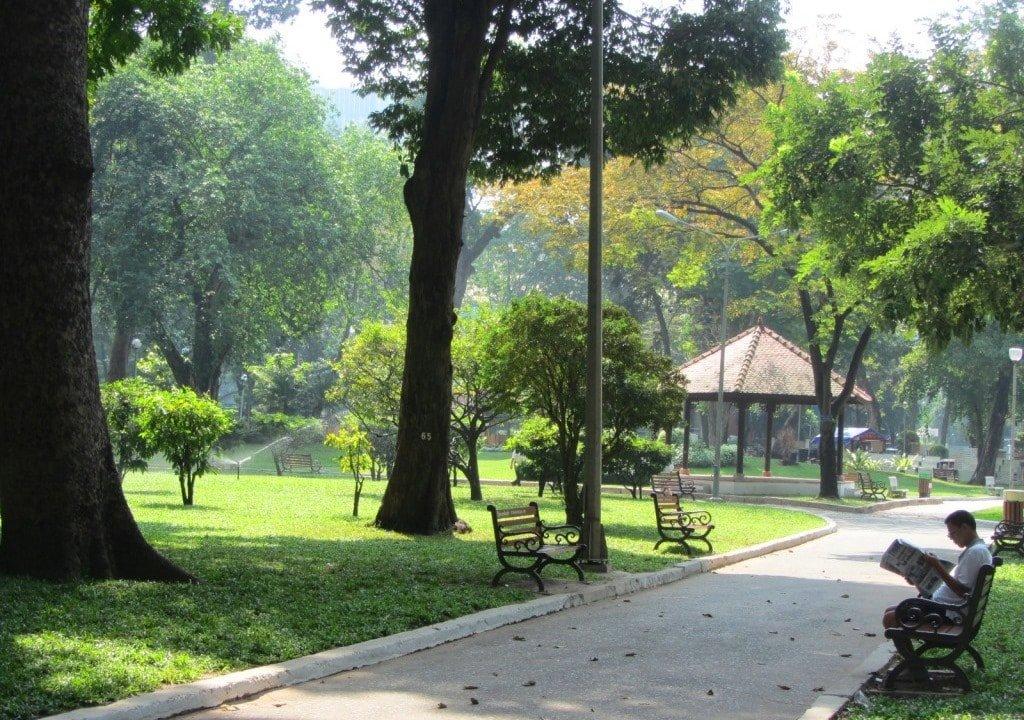 Tao Dan Park, Saigon