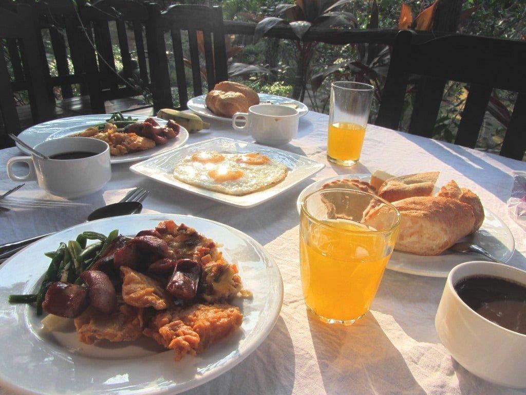 Breakfast at Thanh Kieu Resort