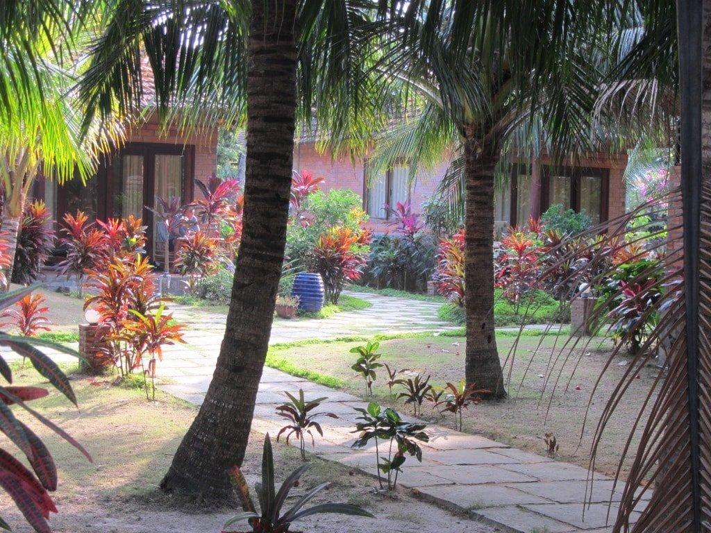 Abundant gardens, Thanh Kieu Resort