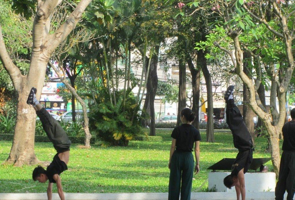 Le Van Tam Park, Saigon