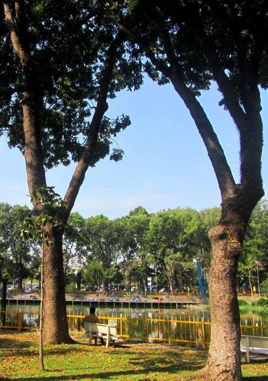Hoang Van Thu Park, Saigon