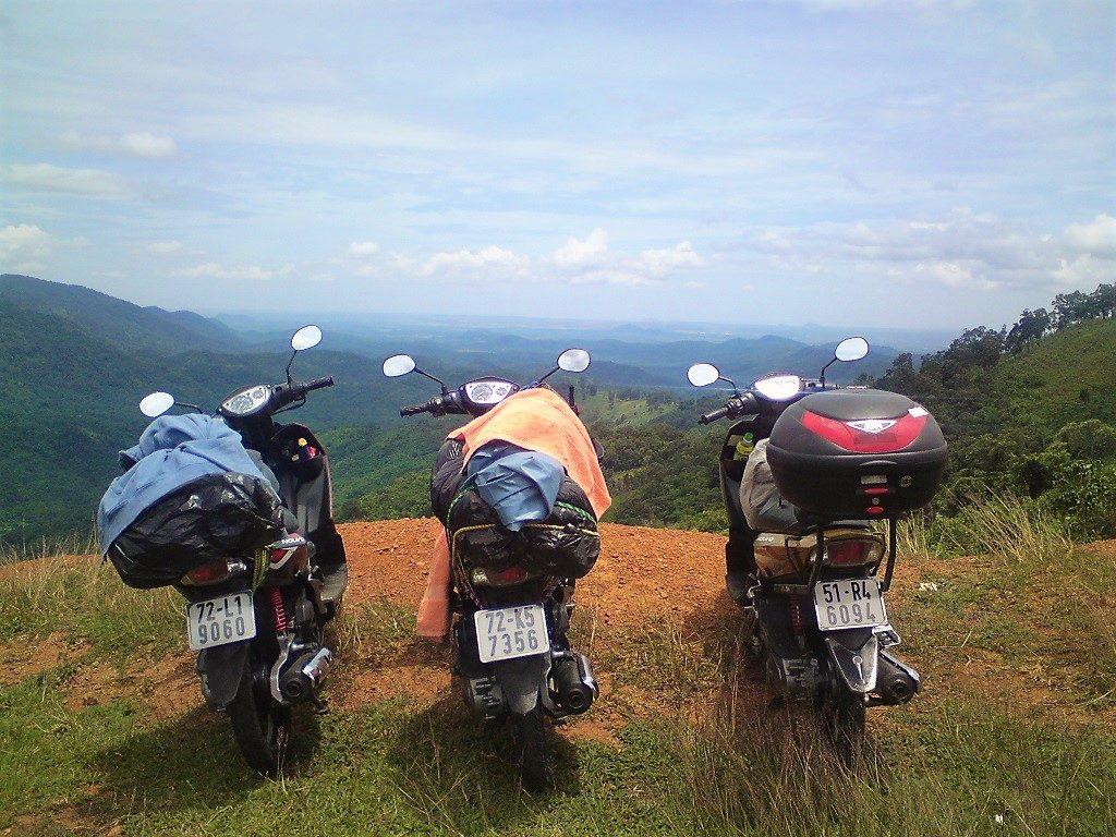 Traveling Vietnam by motorbike