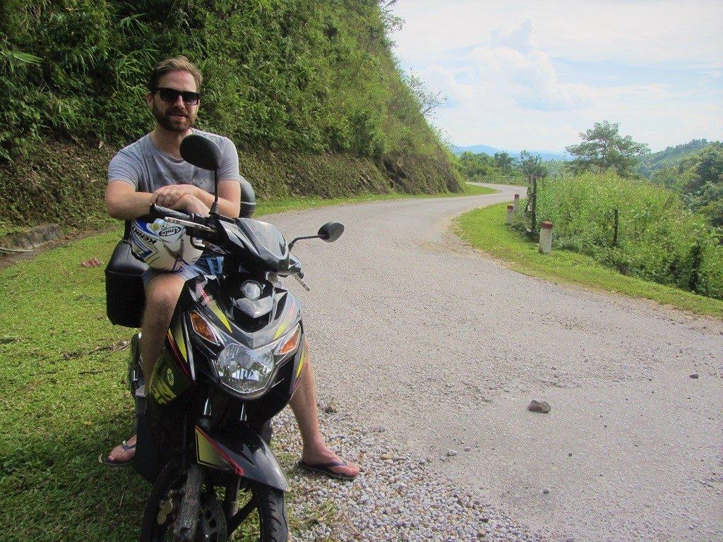 Rent a motorbike and travel through Vietnam
