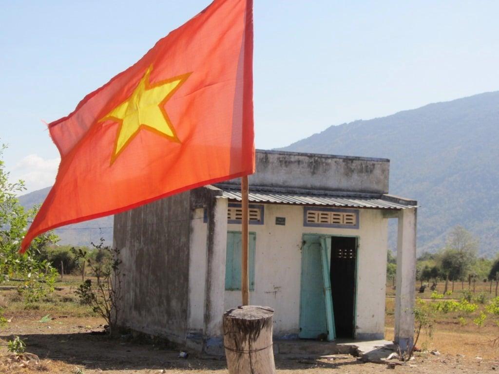 Cham home, Ninh Thuan Province