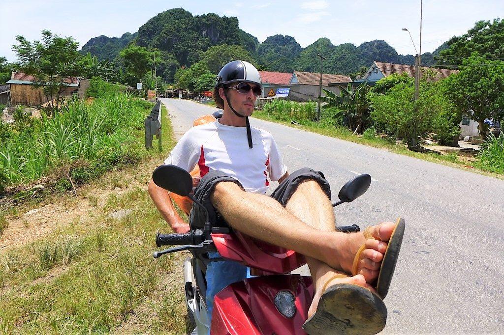 Buy a motorbike and travel through Vietnam
