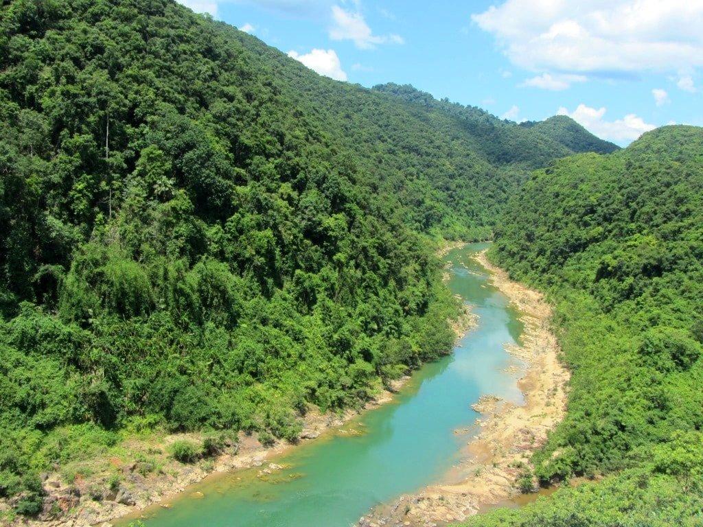 Pristine countryside, Vietnam