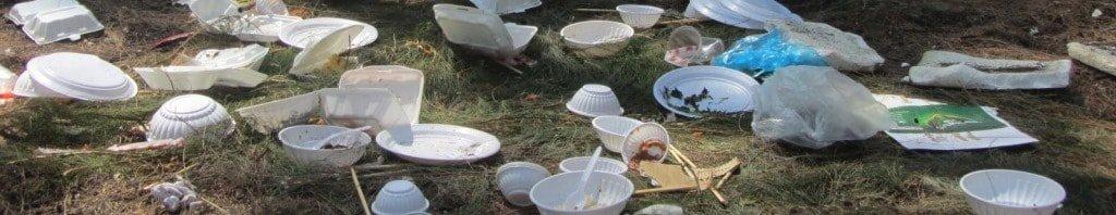 Trash in Vietnam's beauty spots