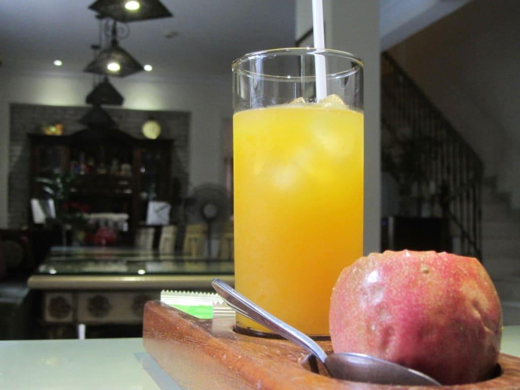 Welcome drink, Ma Maison Hotel, Saigon