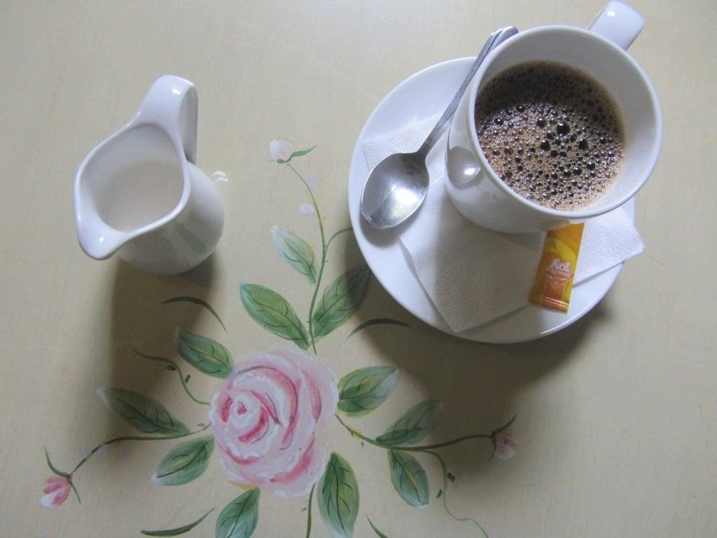 Complimentary coffee, Ma Maison Hotel, Saigon