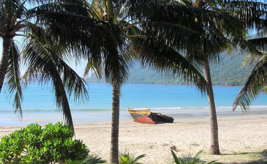 Beach on Con Dao