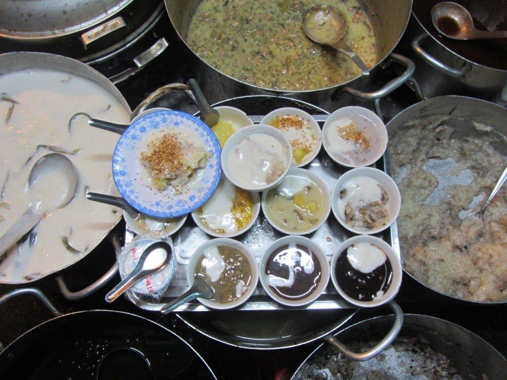 Hot chè varieties, Khánh Vy, Saigon